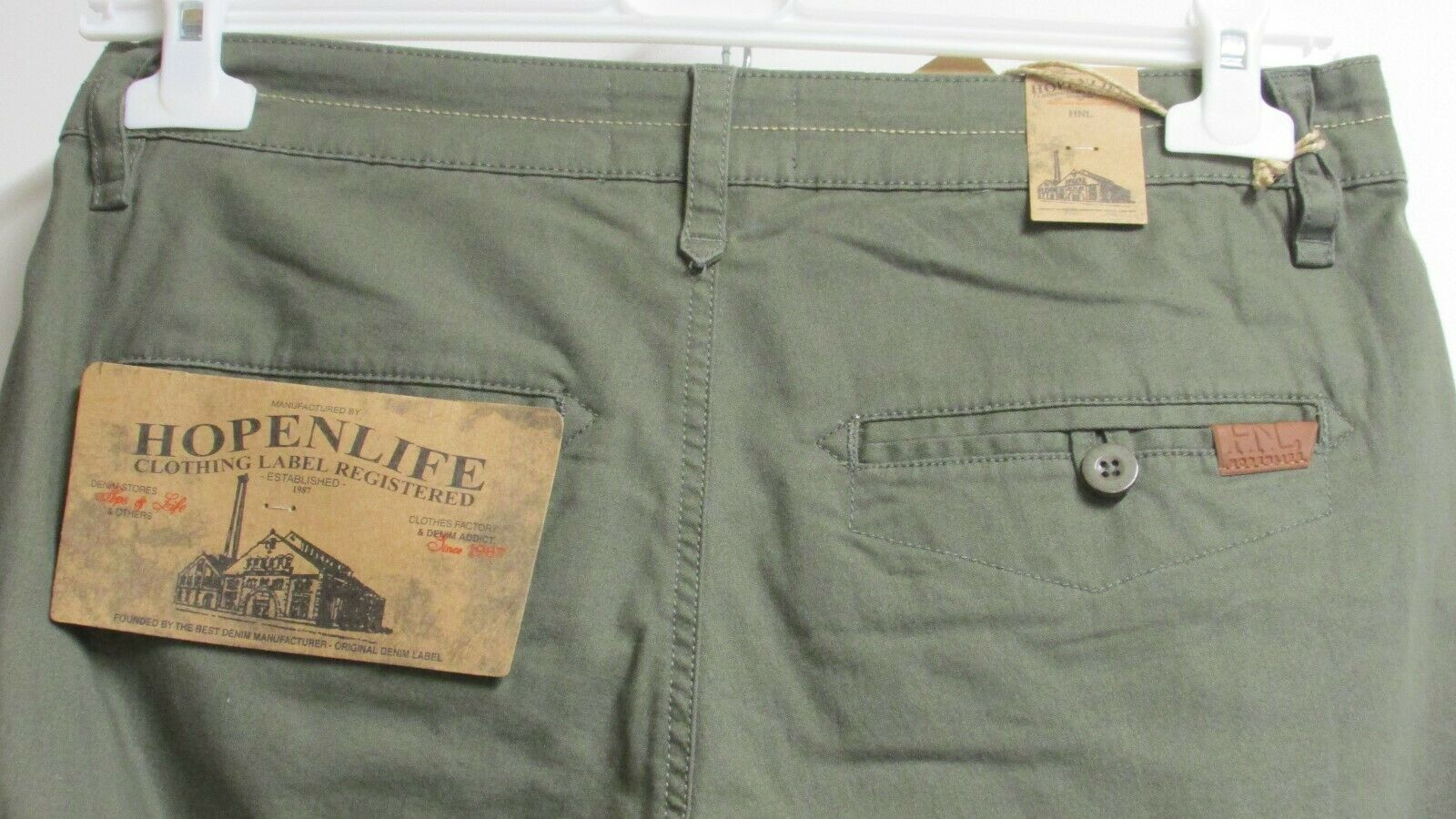 Pantalon chino homme hopenlife ( straight cut )