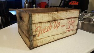 Vintage 7up Wooden Crate