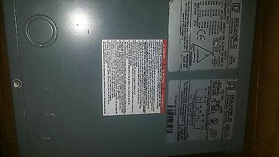 Schneider Electric Square D 2s67f Transformer 2 Kva Fast Free Shipping