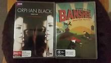Banshee and Orphan Black season 1 (never used) Lindfield Ku-ring-gai Area Preview