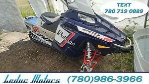 2013 Polaris RMK PRO 800 - AXYS chassis and 800 H.O. Engine!