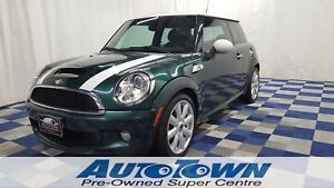2008 MINI COOPER S BC VEHICLE/VERY CLEAN/HTD SEATS