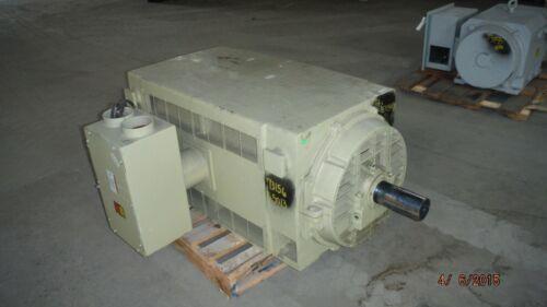 1000 HP General Electric AC Motor, 1800 RPM, Fr. 5013S, DP, 4160 V, EOK