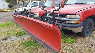 8 Ft Boss Rt3 Snowplow Straight Blade Wwiring Controller Snow Plow 74