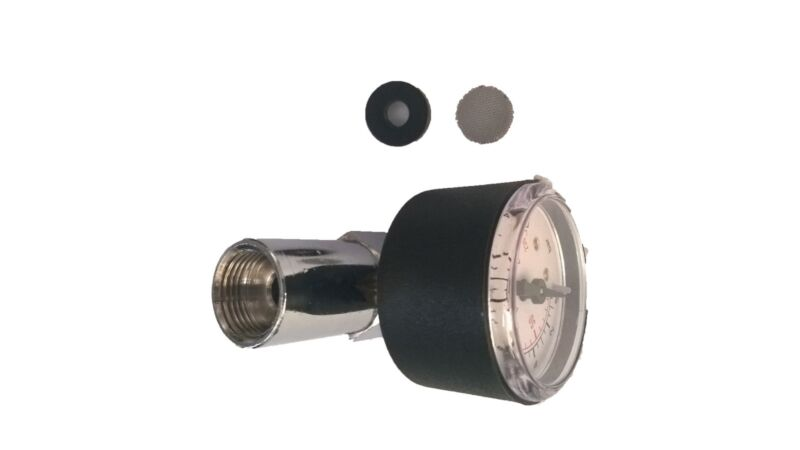 "Portafilter Pressure Gauge TESTER Kit  ø 3/8"" 0÷16 bar fit all espresso machines"