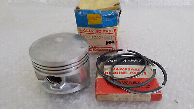 Kawasaki 200 Z200 KZ200 KLT200 Piston Ring Set OS 1.00 NOS 13027-1001 for sale  Shipping to Canada