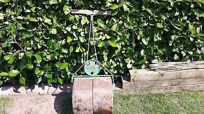 Antique Concrete Garden Roller