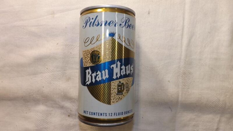 Vintage Brau Haus  Beer Can Steel u