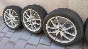 "Roh mags and tyres. 4x100 16""  $150 firm. St Helens Park Campbelltown Area Preview"