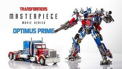 Takara Tomy & Hasbro Transformers Masterpiece Movie Series MPM-04 Optimus