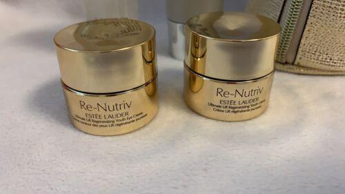 Estee Lauder luxuriöses Re-Nutriv Luxus Geschenk-set mit goldene Tasche New