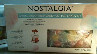 Nostalgia 13511 Hard Sugar Free Candy Cotton Candy Kit Free Shipping
