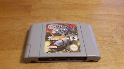 Chopper Attack Nintendo 64 N64 PAL