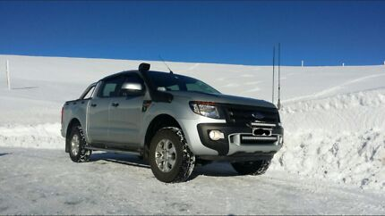 FORD RANGER PX and MK2 sports bar and tonneau Hoppers Crossing Wyndham Area Preview