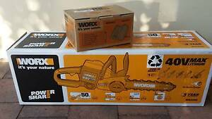 Chainsaw Worx 30cm Li-ion Battery  40V - NEW !! Tiwi Darwin City Preview