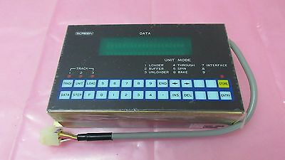 Dainippon Screen Semp-0043 Main Panel Controller Screen. 412766