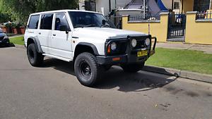 1992  Nissan Patrol Wagon 4.2 Turbo Diesel Clyde Parramatta Area Preview