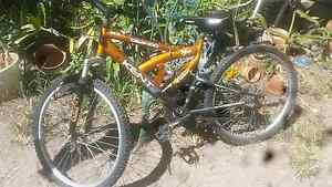"KENT BOYS BIKE 24"" DUAL SUSPENSION. 18 SPEED Redcliffe Redcliffe Area Preview"