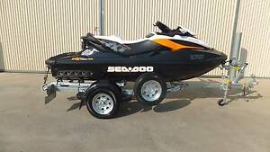 2014 SEADOO RXT260RS JETSKI.DUNBIER ROLLER TRAILER (LOW HOURS 13) Shepparton Shepparton City Preview