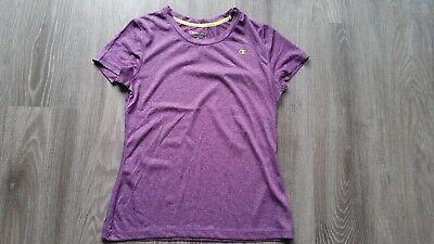 T-Shirt Sportshirt Fitness von Champion lila meliert Größe XS Damen Vapor