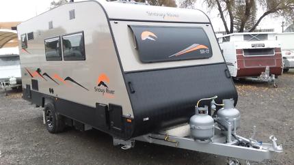2018 Snowy River 17' Caravan Full Ensuite Melrose Park Mitcham Area Preview