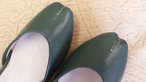 UNZE-GREEN-INDIAN-LEATHER-GIRLS-CHILDREN-KHUSSA-SHOES-SIZE-10