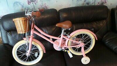 """Bobbin Gingersnap 20"""" Wheel Girls Bike Pink"""