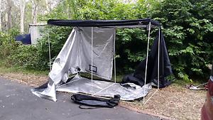 Seahawk insulated black 1.5x2 x2.9 hut house tent easy up gazebo Shailer Park Logan Area Preview