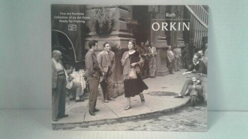 RUTH ORKIN Photograph  9x12 fine art  Portfolio collection of six art prints