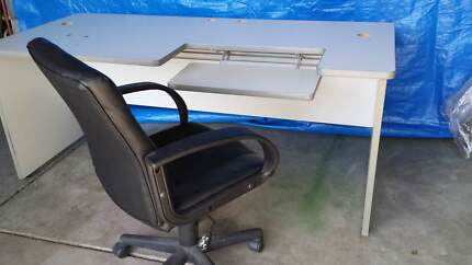 Leather Office Chairs (5 of)