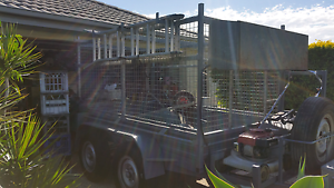 9x5 Electric Braked Caged Trailer 3.5T Burpengary Caboolture Area Preview