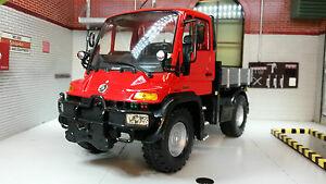 Unimog U400 Type 405/UGN Truck 1:24 Scale Welly Diecast Detailed Model 22098W