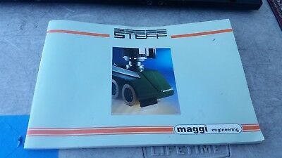 Steff Maggi Power Feeder 2034 2038 2044 2048 Manual Only  Free Shipping