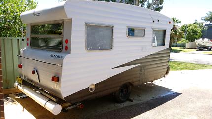 Motivated seller Vintage Viscount Ambassador Caravan