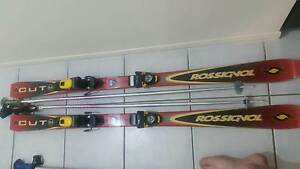 Rossignol Skis & poles x 2 pairs & free boots Morayfield Caboolture Area Preview