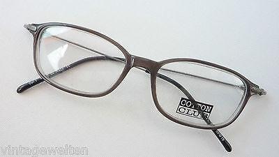 Brille Brillengestell für Herren/Männer Plastik grau leicht C.Club Gr.50-16