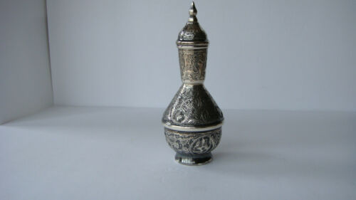 BEAUTIFUL EGYPTIAN ARABIC 900 SILVER AMPHORA VESSEL