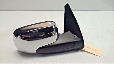OEM 06-11 Chevy HHR Passenger's Side Door Power Mirror Bright Chrome/Black B57 Mirror Bright Trim