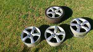 4 x 18 inch ROH alloy wheels/rims commodore stud pattern West Wodonga Wodonga Area Preview