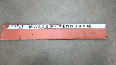 Massey Ferguson 135 4 Cylinder Gas Hood Side Panel