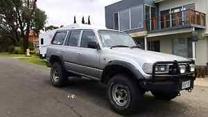 80 Series GXL Toyota Landcruiser 1993 Manual LPG 4x4 Victor Harbor Victor Harbor Area Preview