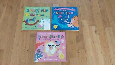 Julia Donaldson – Set of 3 Books – Singing Mermaid, Sugarlump, Princess Mirror