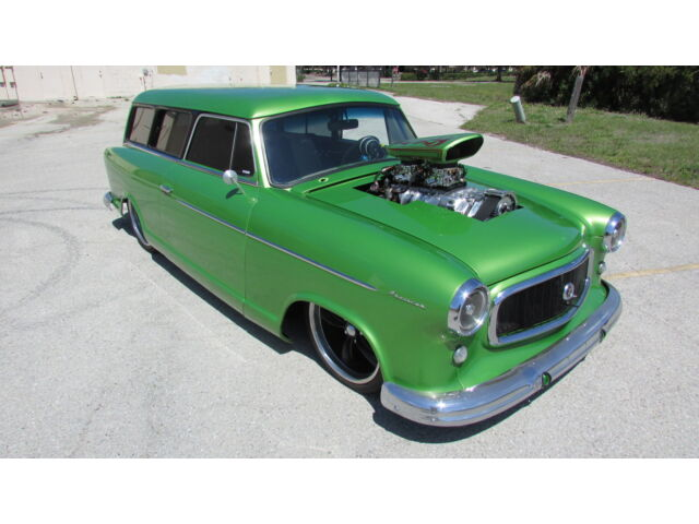 Nash : Other STREET ROD WICKED AMERICAN RAMBLER PRO STREET BLOWN AND BAGGED STATION WAGON AIR RIDE 850HP