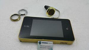 Spioncino digitale vitel 4 0 e0378 vi tel elettronico for Spioncino elettronico per porte blindate