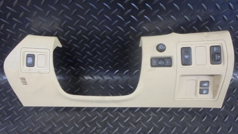 2006 LEXUS IS220D 2.2 DASHBOARD TRIM WITH MULTIPLE SWITCHES 55045-53030