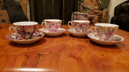 Royal Cotswolds English Tradition Chintz Floral Teacup & Saucer