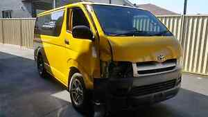 Damaged 2007 toyota hiace automatic Clyde Parramatta Area Preview