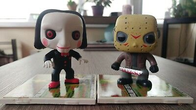 Funko Pop! Movies Vinyl lot UNBOXED - Billy from Saw and Jason Voorhees