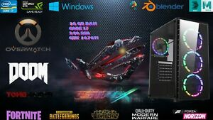 Gaming-PC-i7-GTX-1070ti-16GB-RAM-240GB-SSD-Windows-10