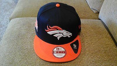Denver Broncos New Era 9FIFTY Snapback Flatbrim